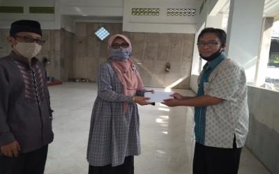 Donasi untuk Masjidi Al Quds Dari alumni angkatan 96